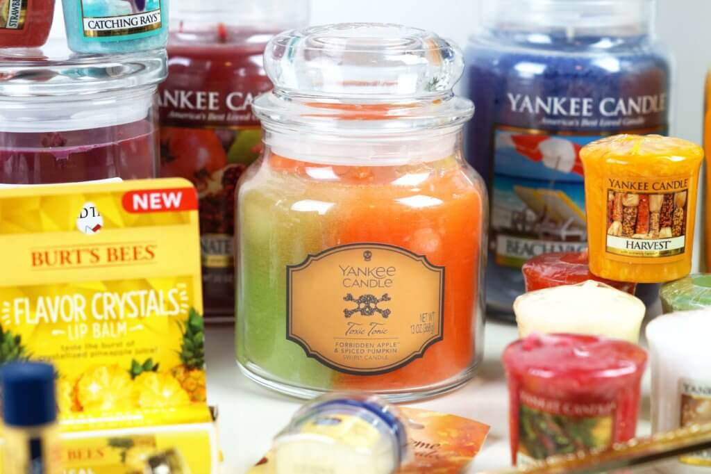 yankee-candle-usa-haul-shopping-bath-and-bodyworks-burts-bees-tantedine