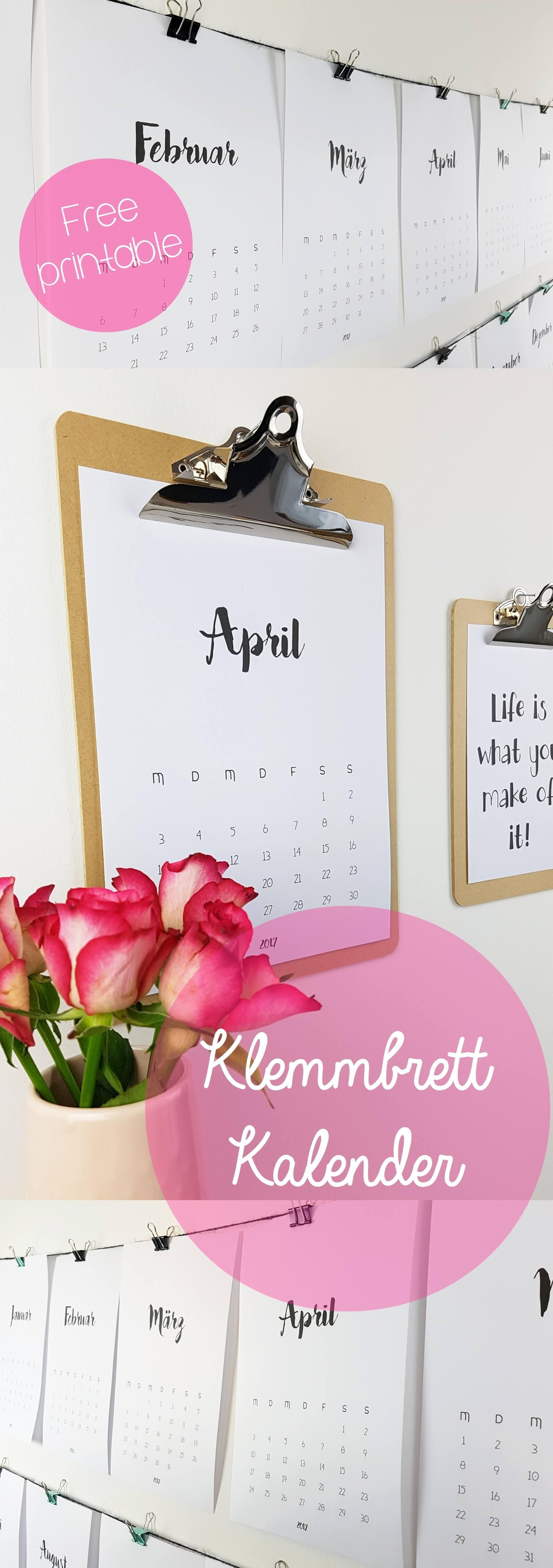 zeitloser-klemmbrett-kalender-diy-free-printable-tantedine