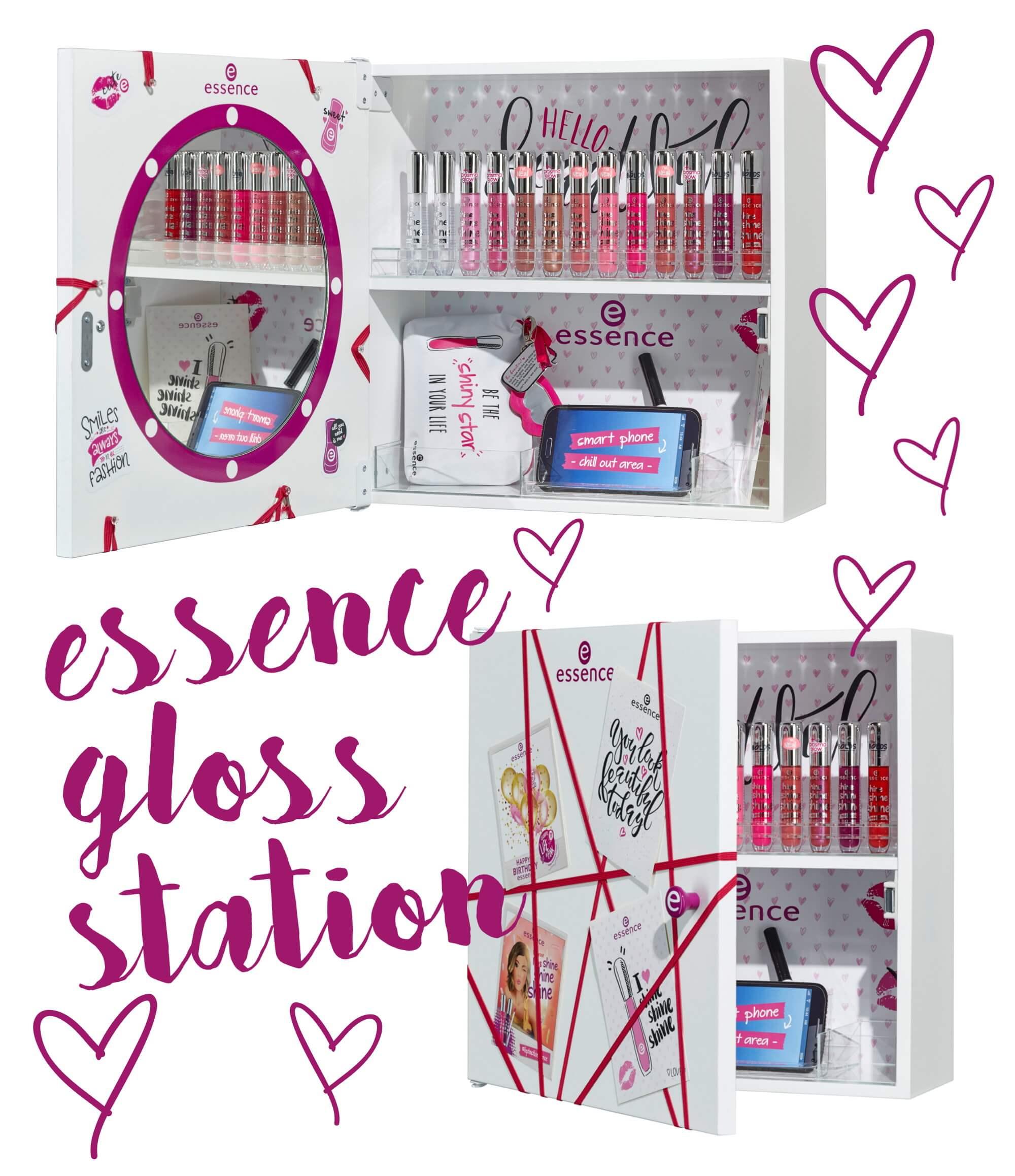 essence gloss station gewinnspiel tantedine. Black Bedroom Furniture Sets. Home Design Ideas