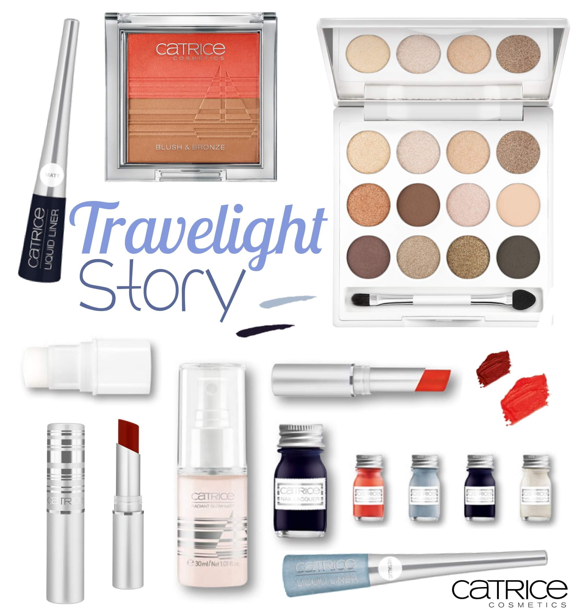 Travelight Story Limited Edition Collage Catrice tantedine