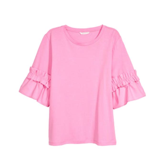 hm-volant-shirt-rosa-tantedine