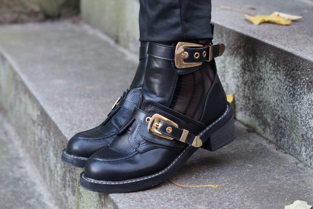 Lookalikes Balenciaga Ceinture Boots tantedine