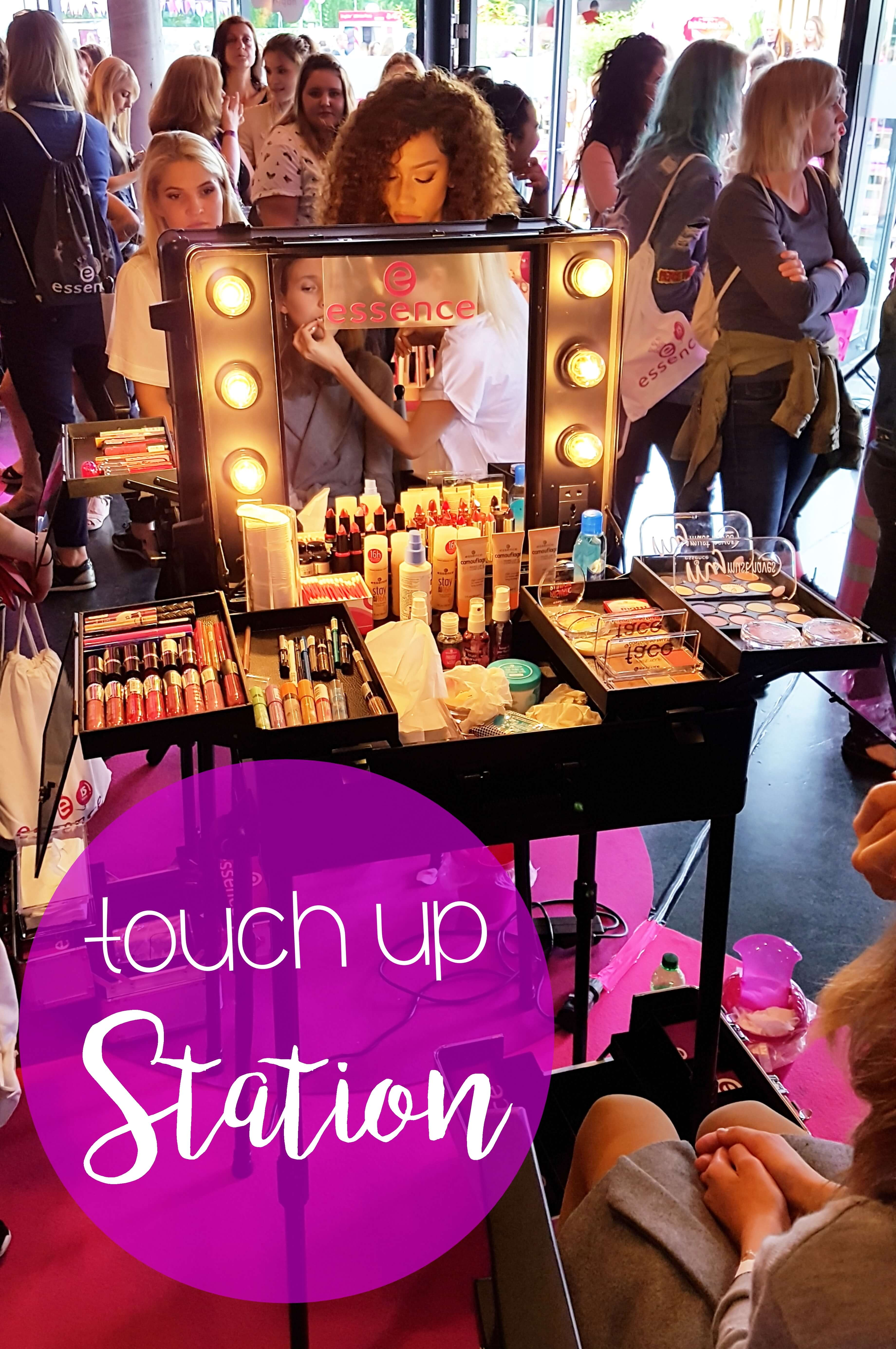 essence Birthday Bash Touch up Station tantedine