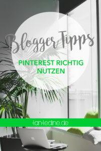 Pinterest richtig nutzen Collage tantedine