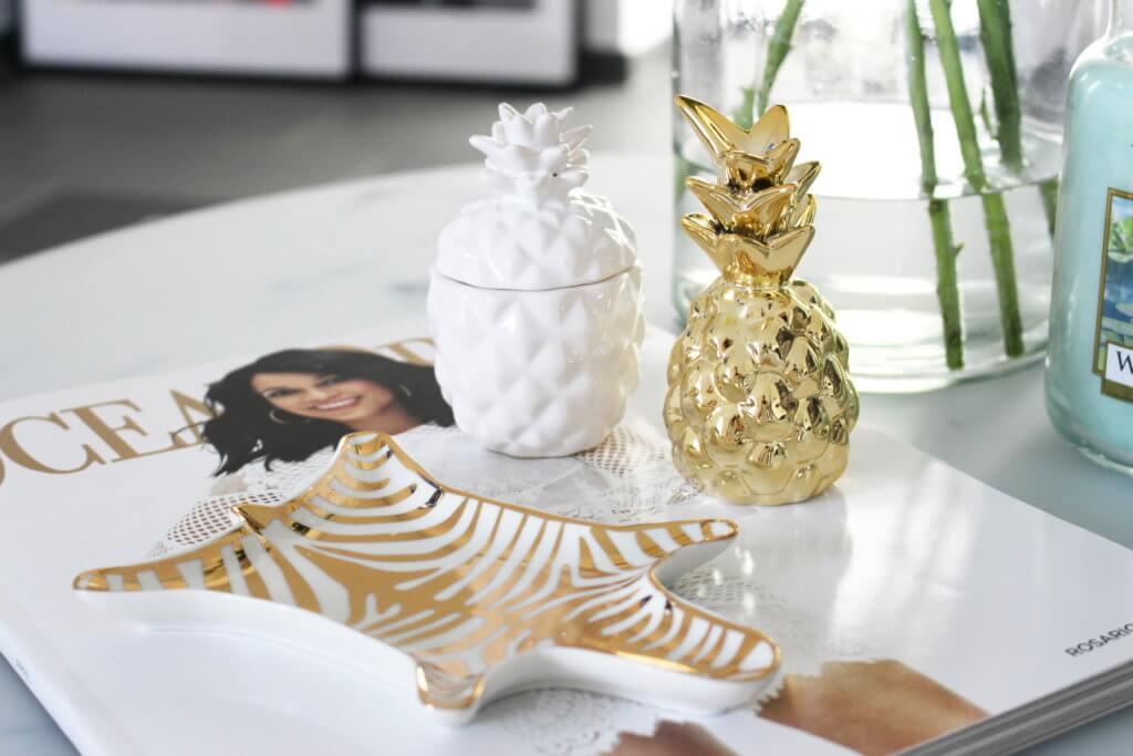 Unsere Neue Wohnzimmer Deko In Grün & Gold | Tantedine