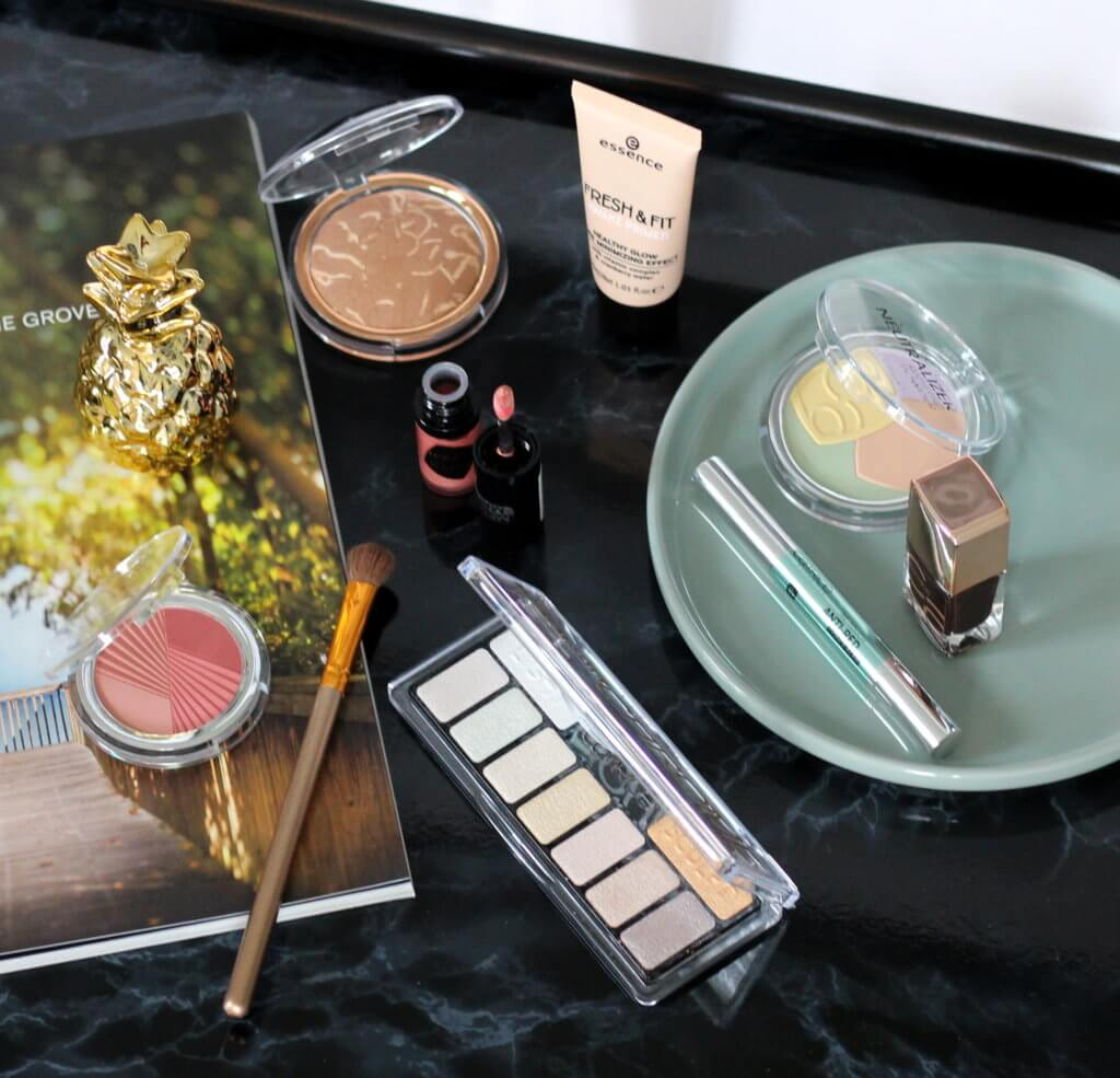 Summer Glow Make up mit Catrice Chrome Palette tantedine