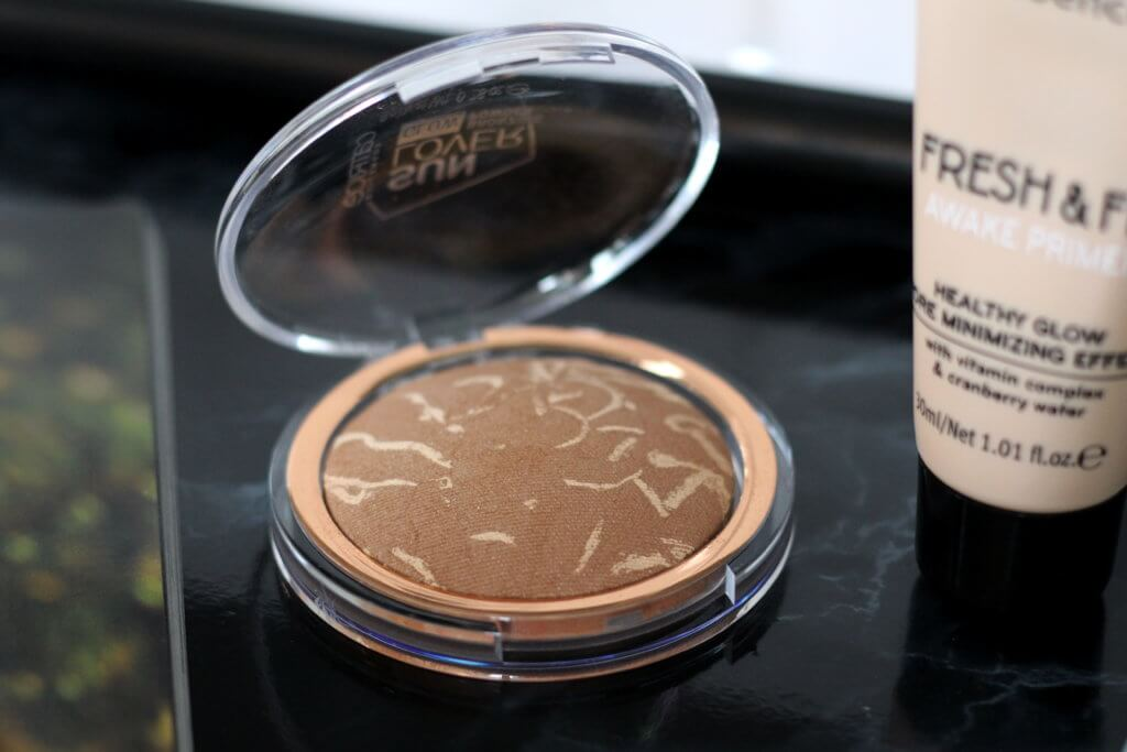 Summer Glow Make up mit Catrice Bronzer tantedine