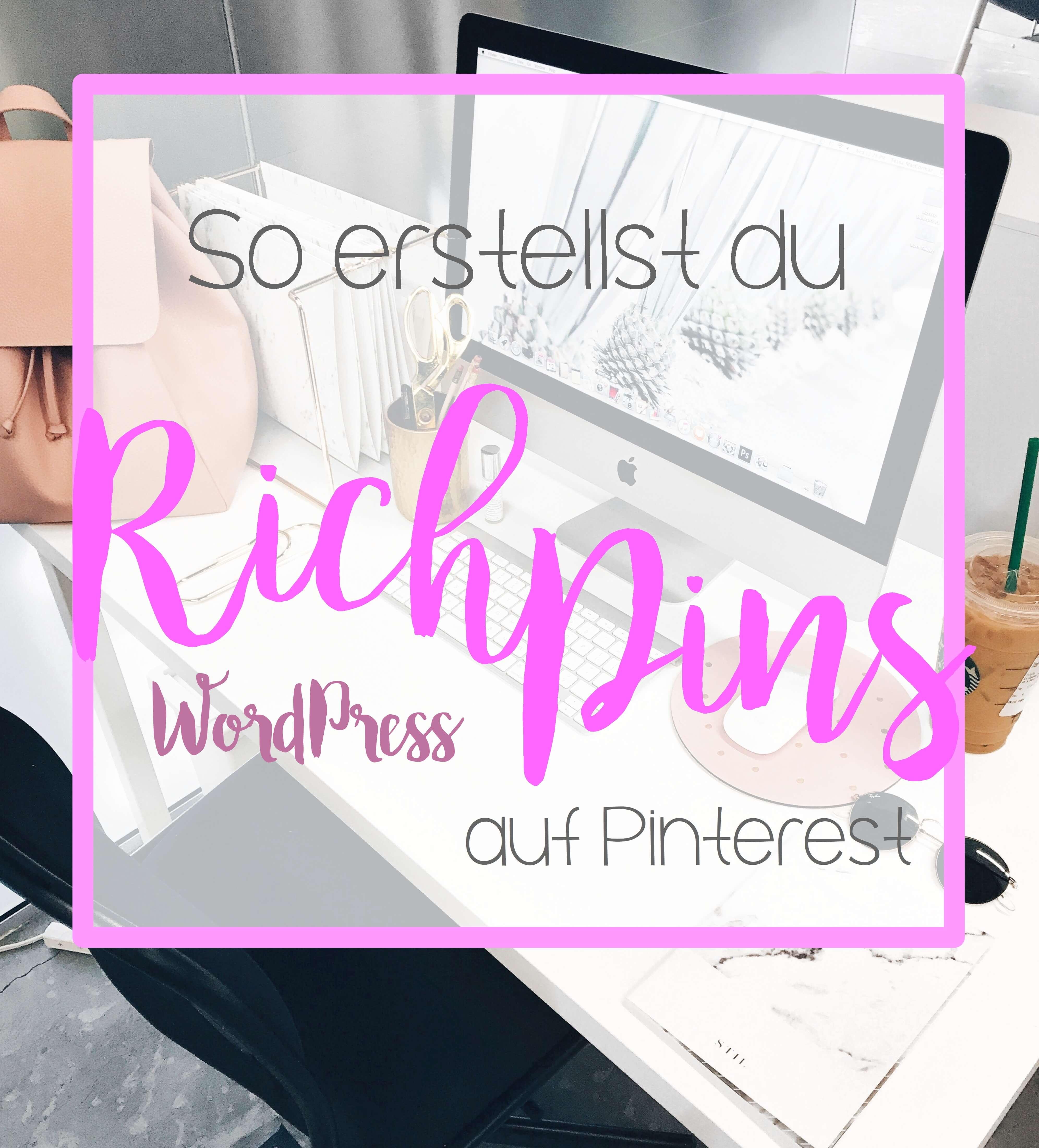 So erstellst du Rich Pins auf Pinterest tantedine