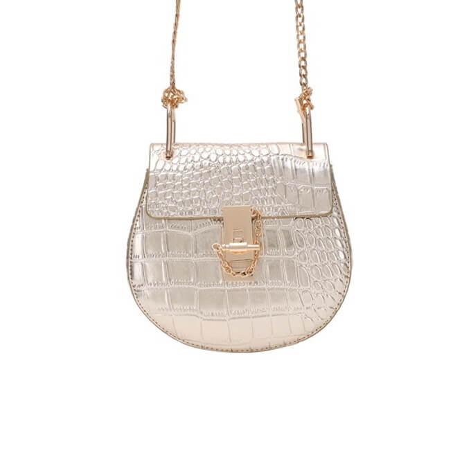 Handtasche Gold