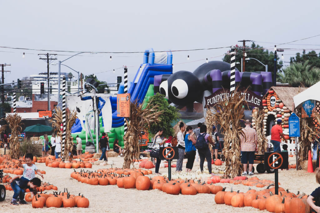 Mr. Bones Pumpkin Patch in Los Angeles tantedine