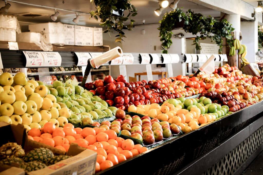 Der Farmers Market in Los Angeles