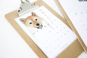 Lettering Kalender tantedine
