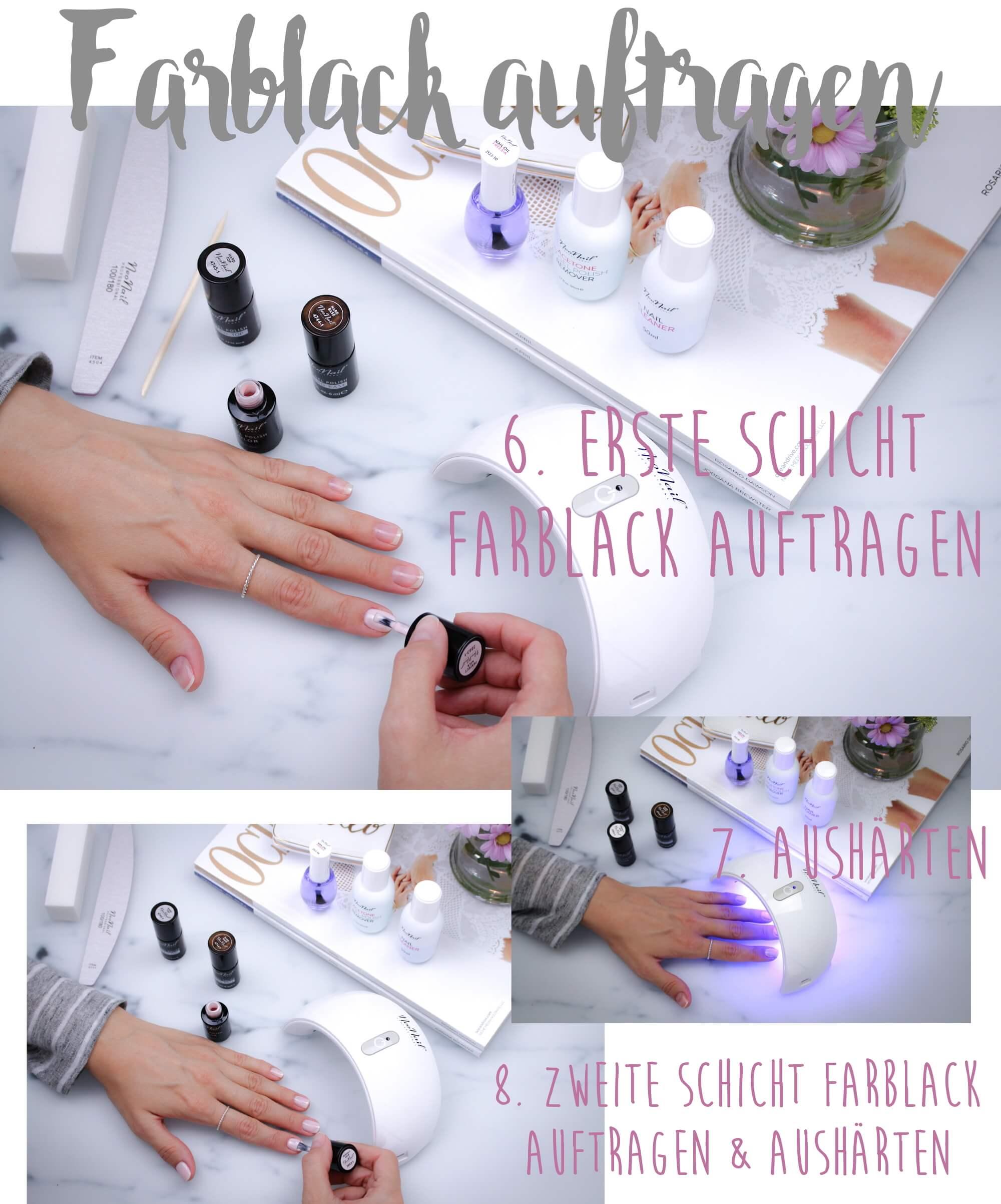 Liebenswert Nägel Selber Machen Mit Nagellack Dekoration Von How To Do Uv-nagellack Tantedine