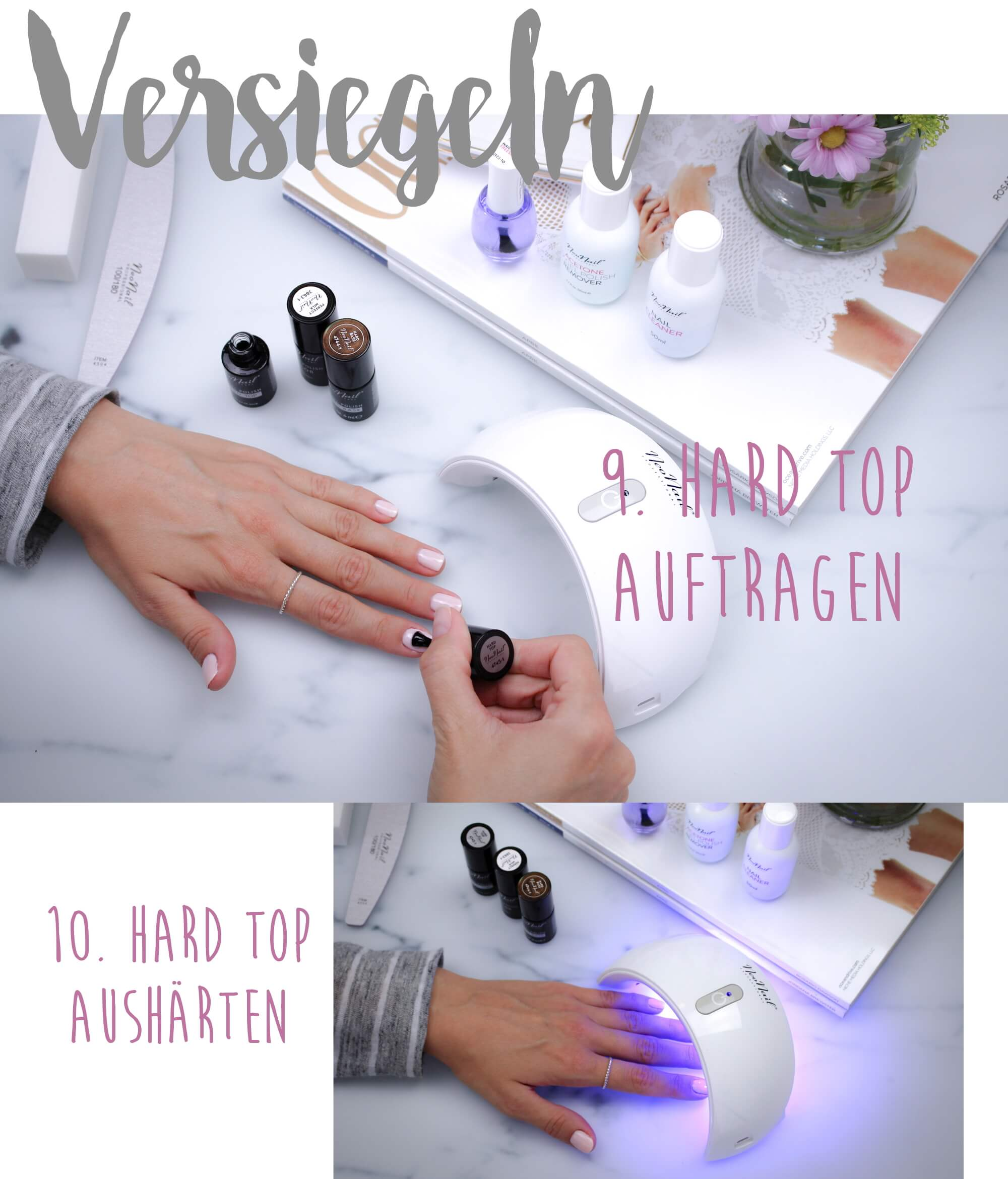 How to do UV-Nagellack tantedine