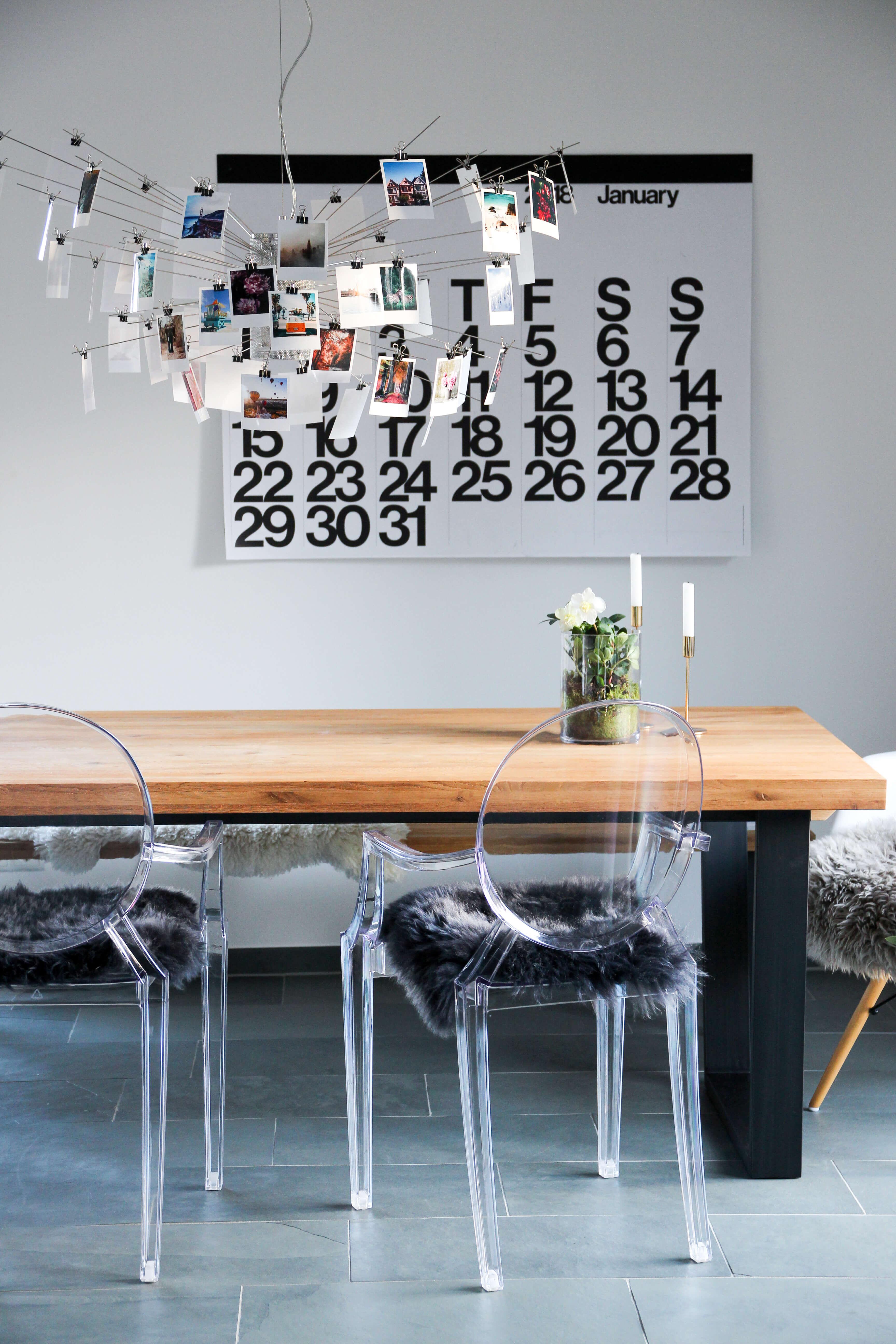 Wohnbereich Umgestaltung Zettelz Ingo Maurer Stendig Calendar Cheerz Ghost Kartell tantedine