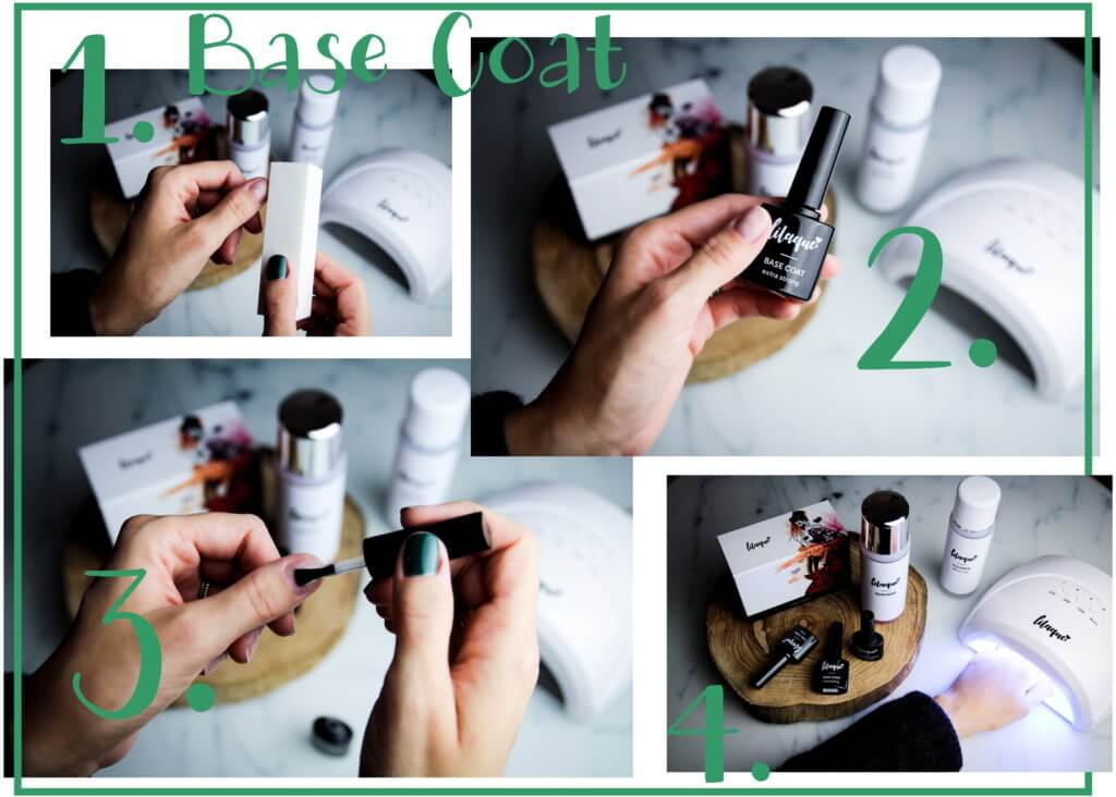 lilaque UV-Nagellack Set how-to tantedine