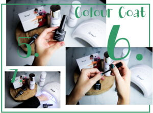 lilaque UV-Nagellack Set how-to tantedine