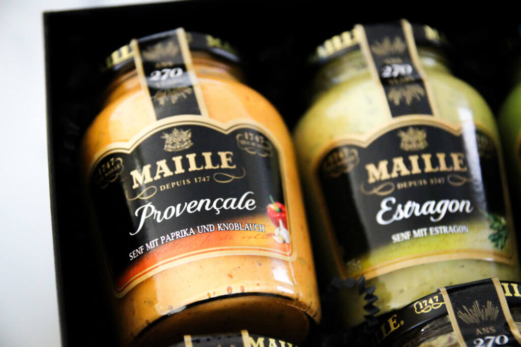 Maille Dijon Senf Set Adventsverlosung Foodboom tantedine