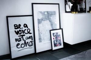 Posterlounge Bilder fürs Wohnzimmer druken lassen Adventsverlosung tantedine