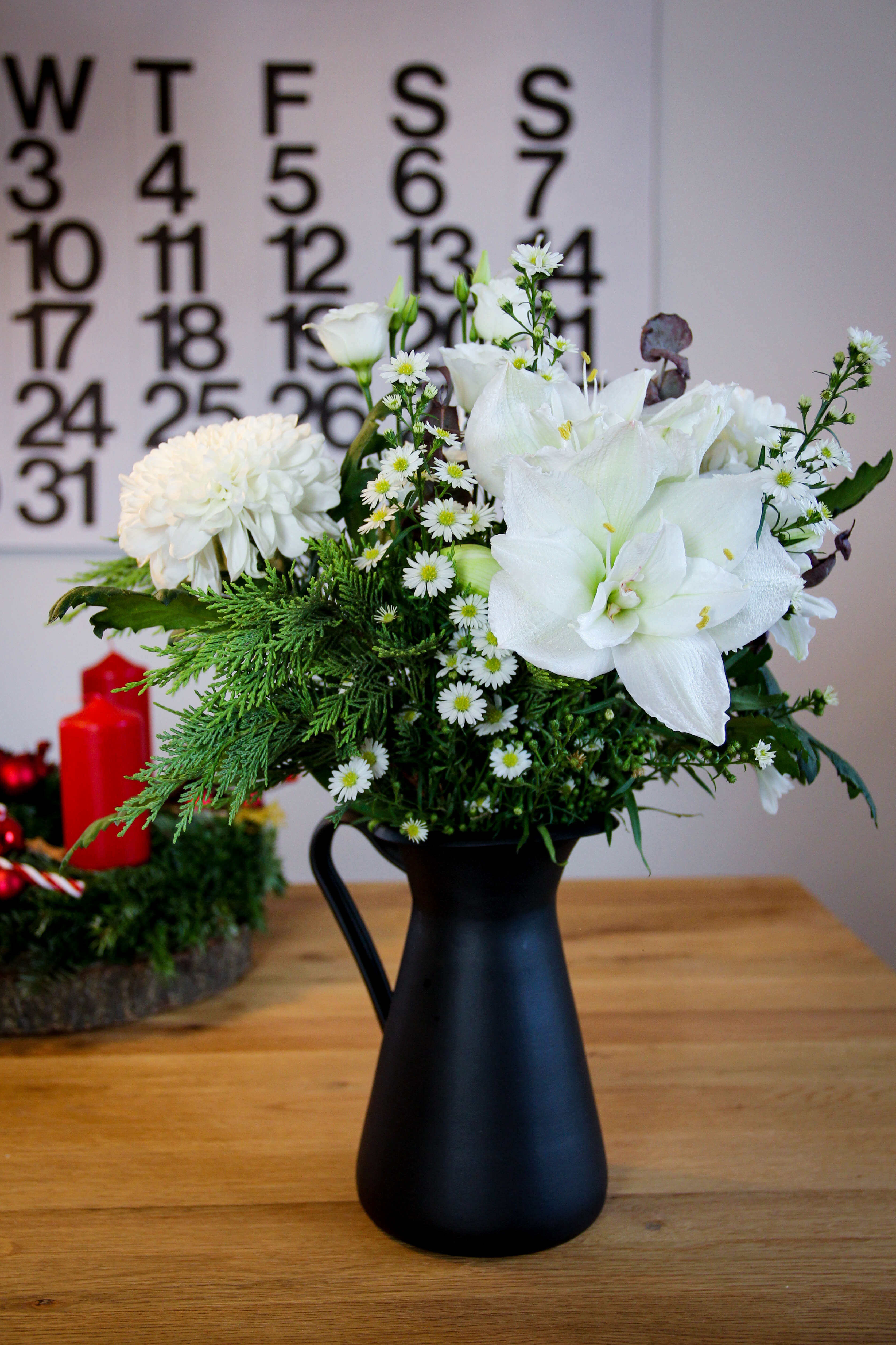 Weihnachtspost mit Blume2000.de tantedine