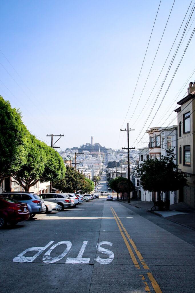 San Francisco Lombard Street Filbert Streettantedine