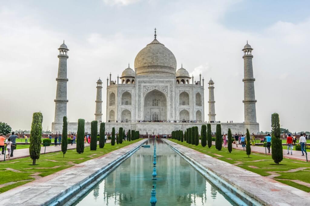 Travel Bucket List Indien Taj Mahal tantedine