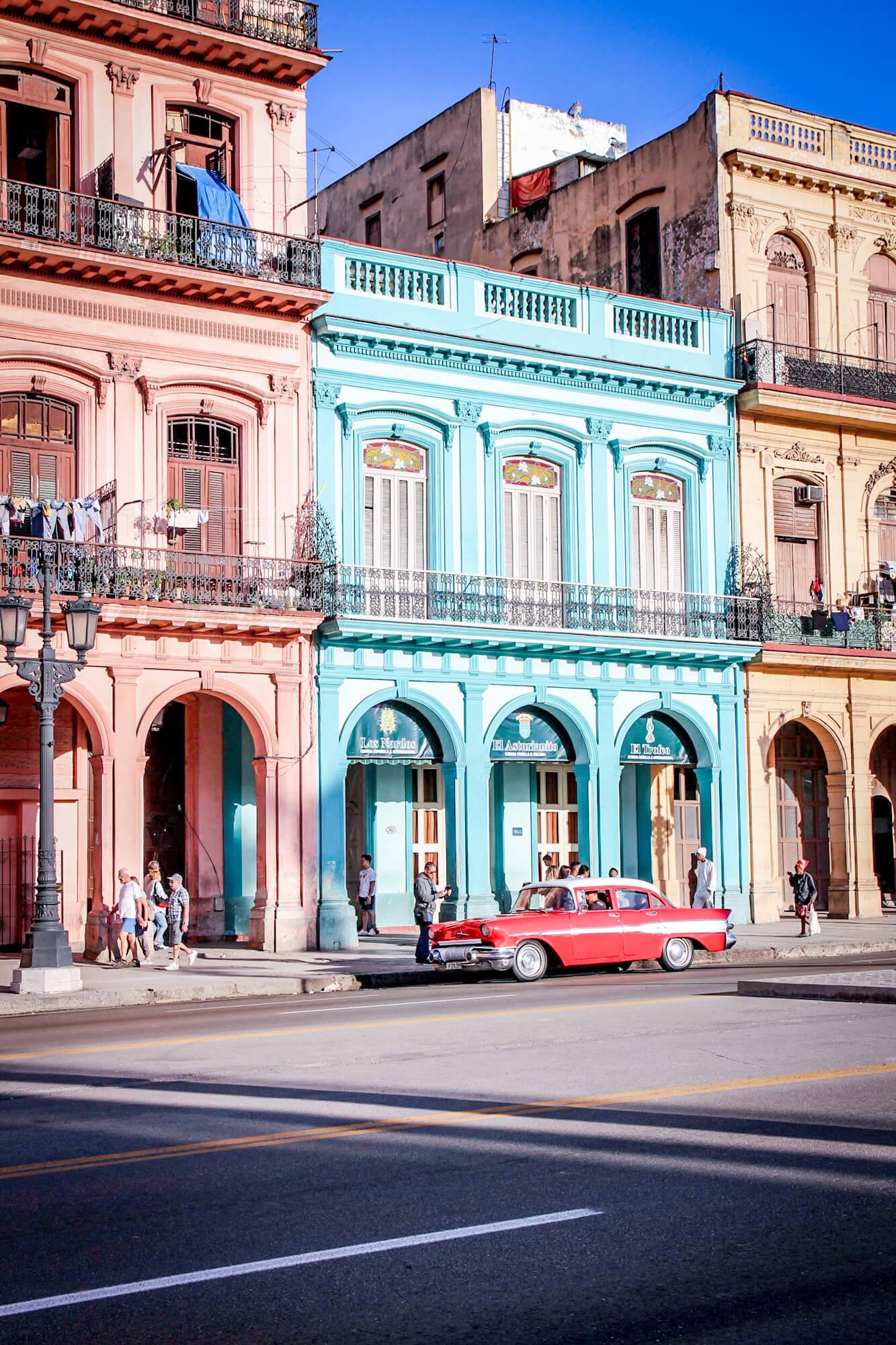Kuba Havanna Urlaub Travel Paseo de Marti tantedine