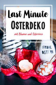 Last Minute Osterdeko Blume2000.de Blumenstrauß Leuchtende Überraschung DIY Pinterest tantedine