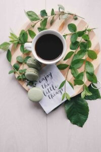 Zuckerschock und Frühlingsanfang bei tantedine