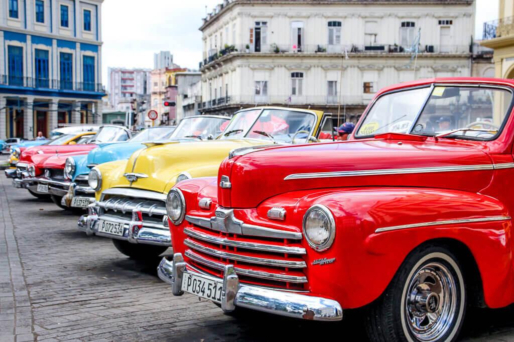 Kuba Havanna Cuba La Habana Vieja Malecon Calle Obispo Capitolio Kapitol Parque Central tantedine