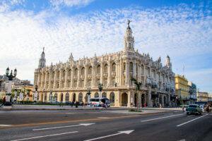 Kuba Havanna La Habana Vieja Cuba Gran Theatro Theater tantedine