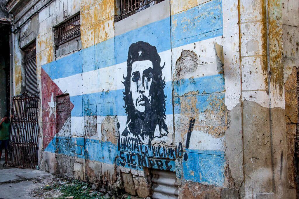 Kuba Havanna La Habana Vieja Che Art Kunst tantedine