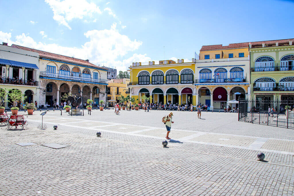 Kuba Havanna Cuba La Habana Vieja Plaza Vieja tantedine