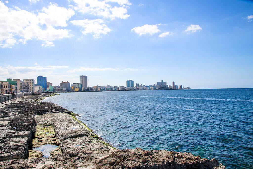 Kuba Havanna Cuba La Habana Vieja Malecon tantedine
