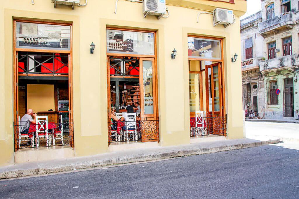 Kuba Havanna Cuba La Habana Vieja Malecon Bars Restaurants tantedine