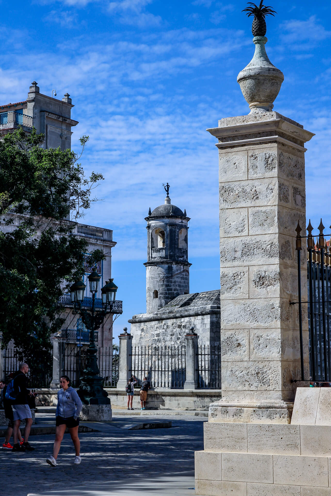 Kuba Havanna Cuba La Habana Vieja Malecon Calle Obispo Capitolio Kapitol Plaza de Armas Castillo de la Real Fuerza tantedine