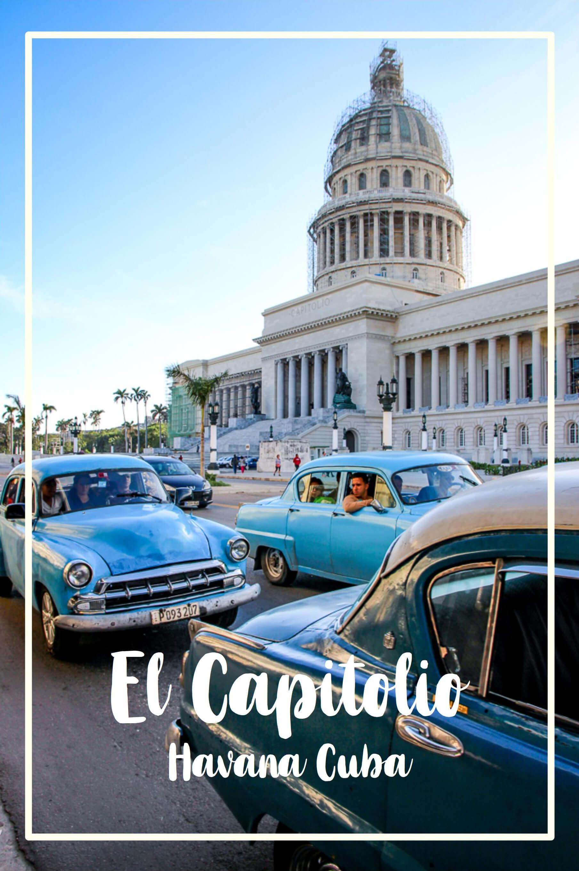 Kuba Havanna Cuba La Habana Vieja Kapitol El Capitolio Reisetipps tantedine