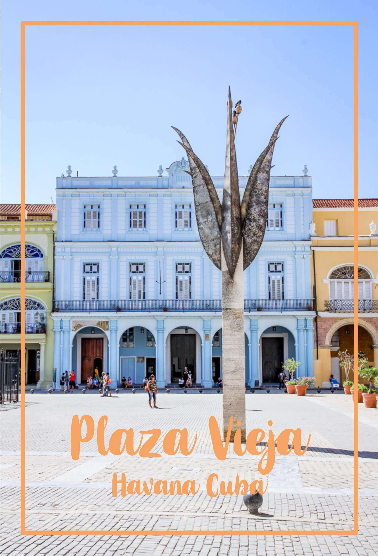 Kuba Havanna Cuba La Habana Vieja Reisetipps Plaza Vieja tantedine