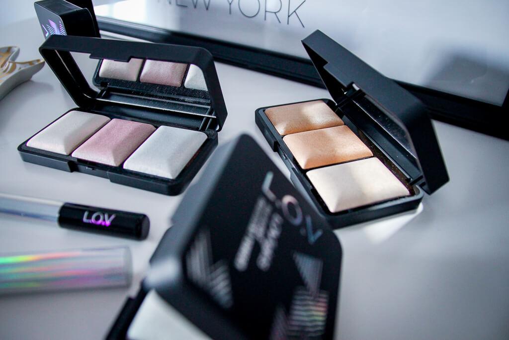 L.O.V LOVlights Highligter Prismatic Holo Bronzer Beautyblog tantedine