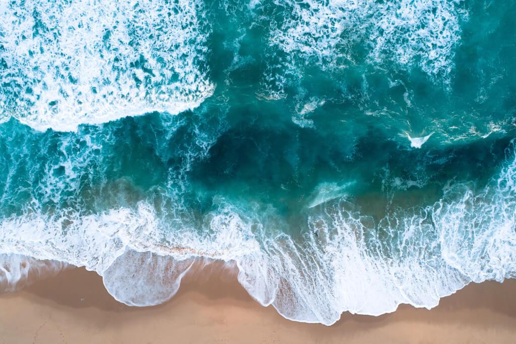 Waves Strand und Wellen Wo ist mein Elan tantedine