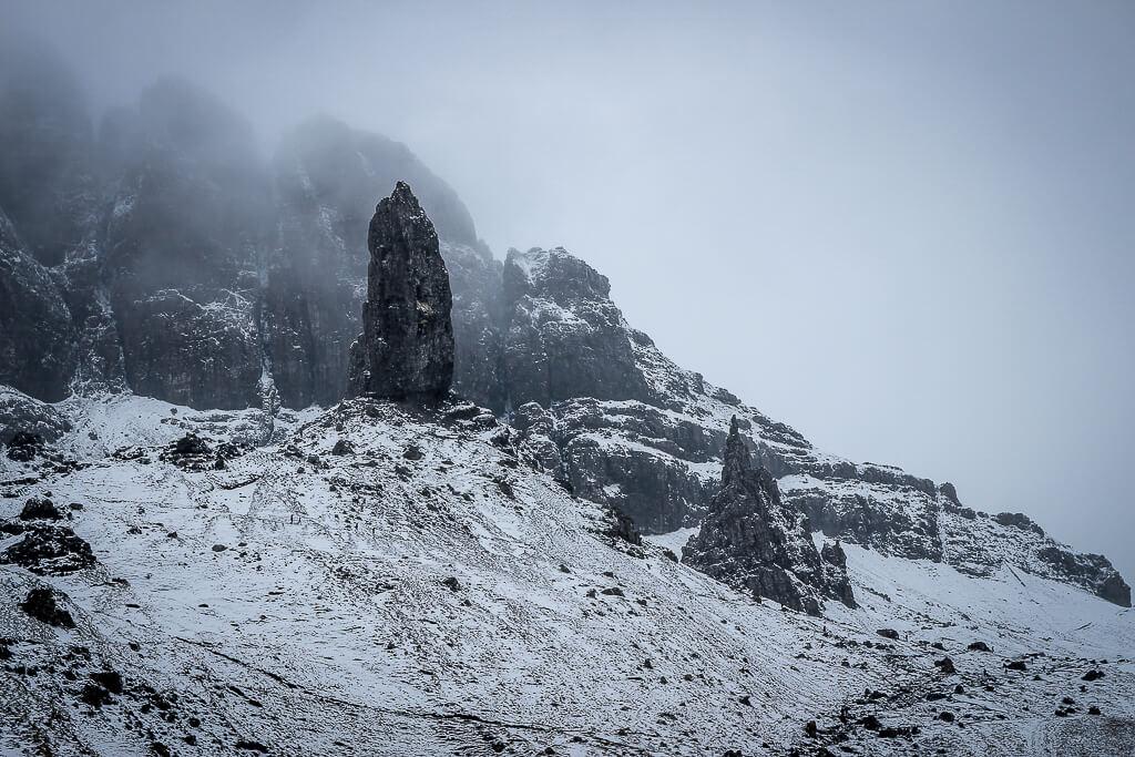 Isle of Skye Schottland Sehenswürdigkeiten Old Man of Storr tantedine