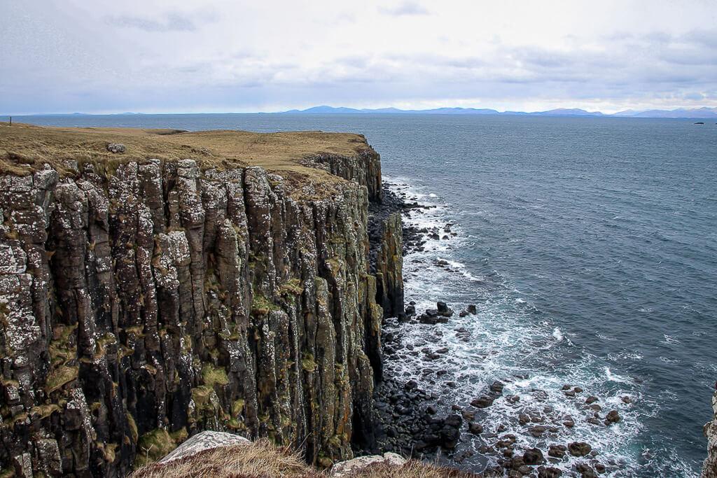 Isle of Skye Schottland Sehenswürdigkeiten Cave of Gold tantedine