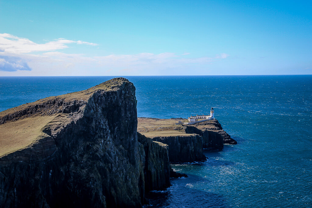 Isle of Skye Schottland Sehenswürdigkeiten Neist Point Lighthouse Highlands tantedine