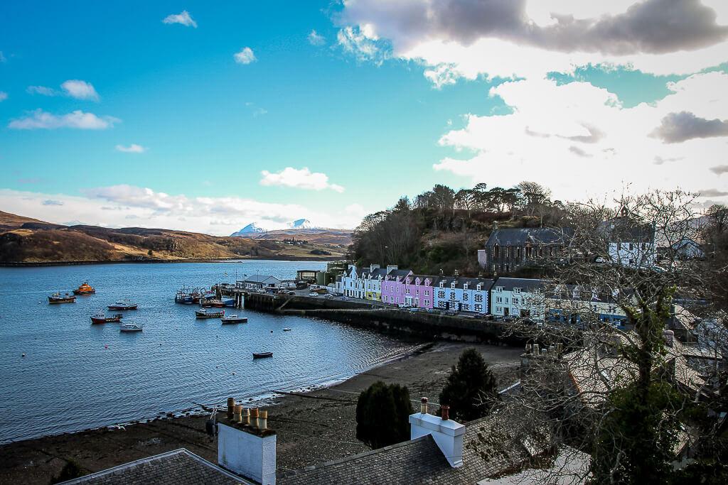 Isle of Skye Schottland Sehenswürdigkeiten Portree tantedine