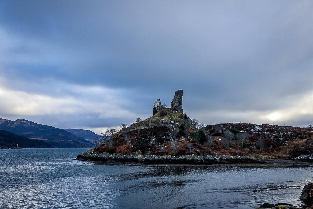 Isle of Skye Schottland Sehenswürdigkeiten Caisteal Moil tantedine