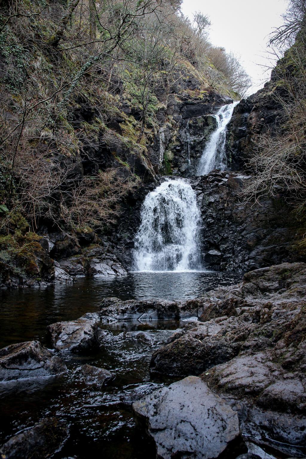 Isle of Skye Schottland Sehenswürdigkeiten Falls of Rha Highlands tantedine